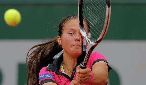 Дарья Касаткина вышла во второй круг турнира в Китае