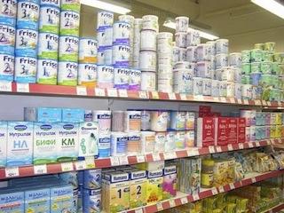 Предпринимателей Тольятти накажут за слишком высокие цены на продукты детского питания