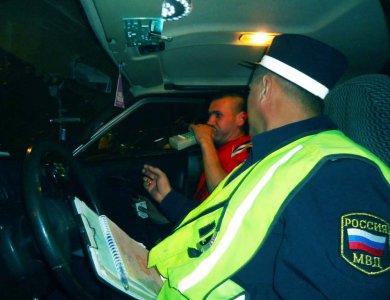 За выходные 11 тольяттинских водителей попались пьяными за рулем