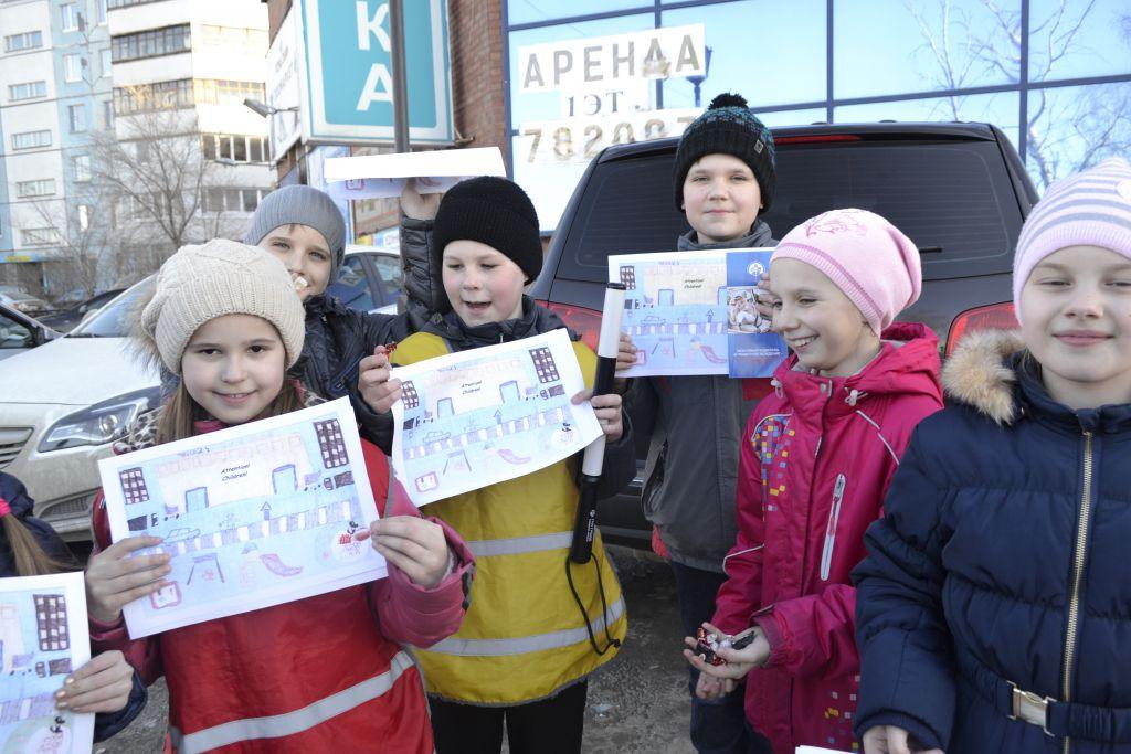 Дети Ставропольского района — под пристальным взором инспекторов ГИБДД