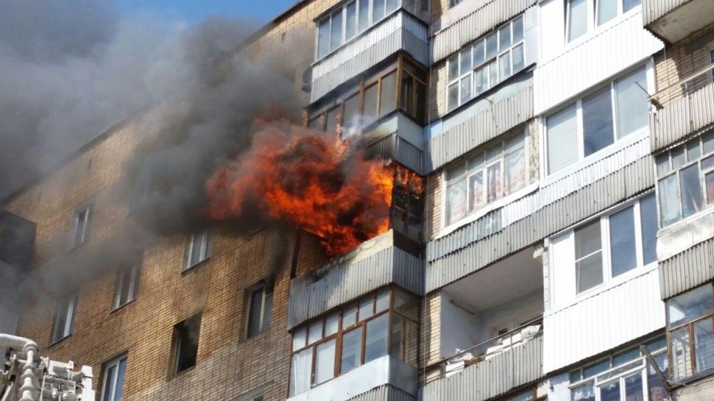 Обгоревший на пожаре тольяттинец убежал из поликлиники