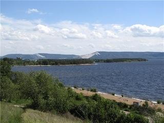 Уровень воды в Волге близ Тольятти по-прежнему ниже нормы