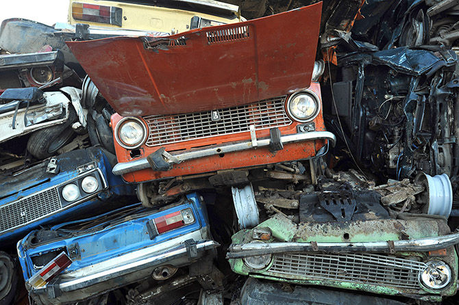 В России запретят ремонтировать машины восстановленными запчастями