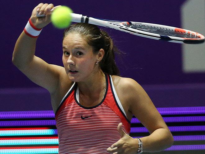 Дарья Касаткина проиграла олимпийской чемпионке на турнире в Китае