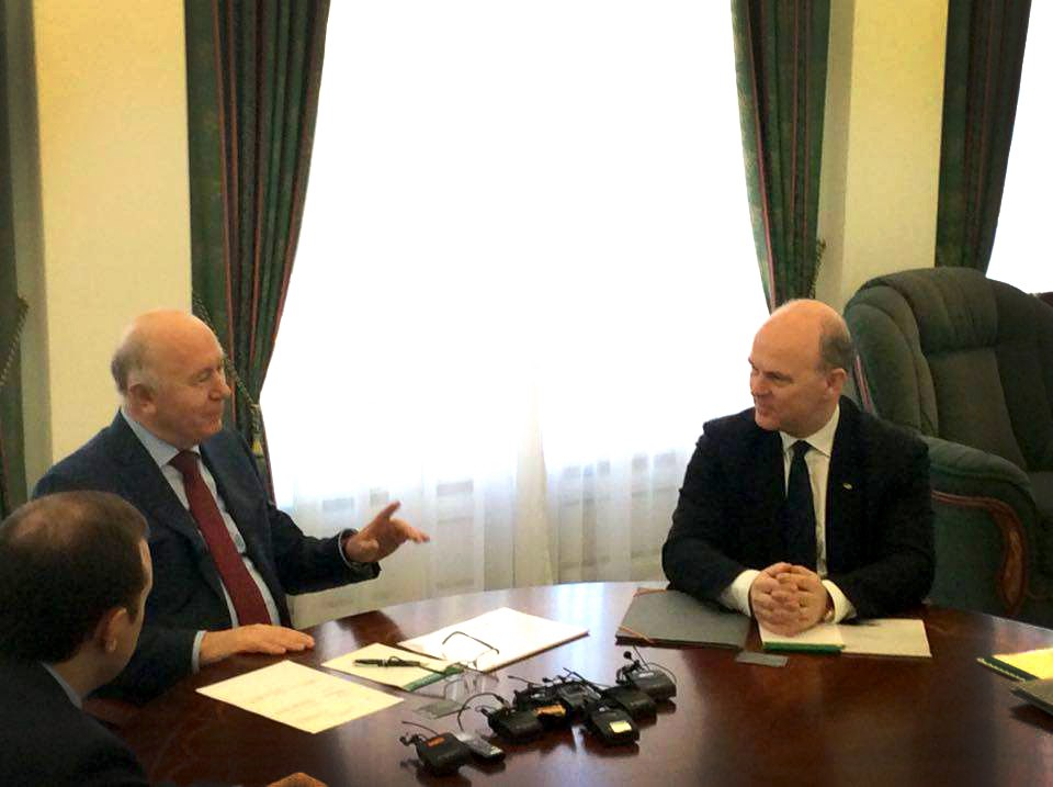 Николя Мор встретился с губернатором Самарской области