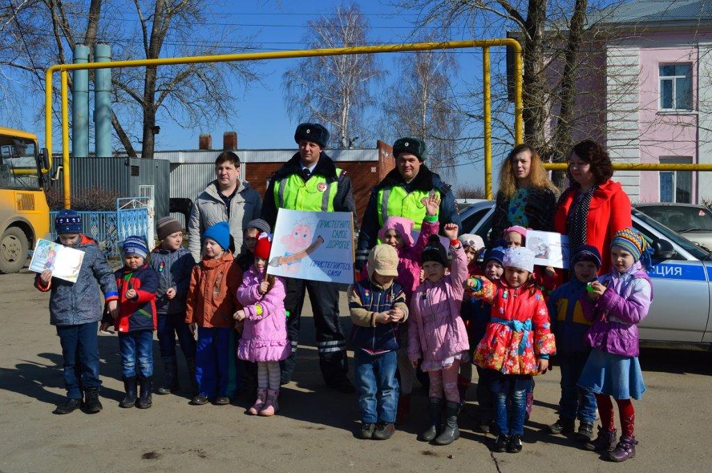 В пригороде Тольятти прошла акция «Безопасная дистанция»