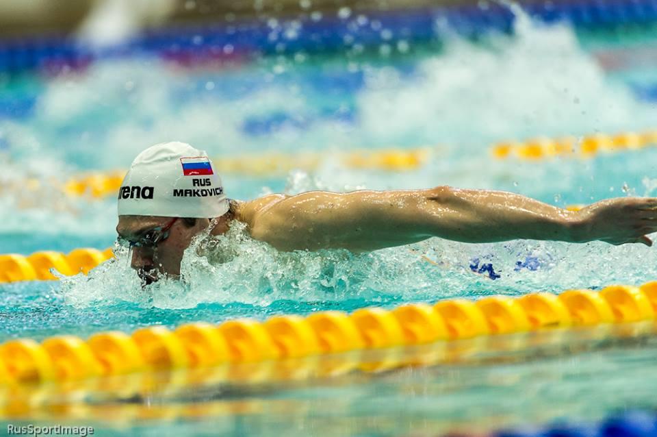 Тольяттинский пловец выиграл вторую золотую медаль на чемпионате страны