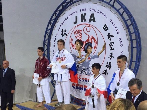 Тольяттинский каратист стал победителем в чемпионате Европы
