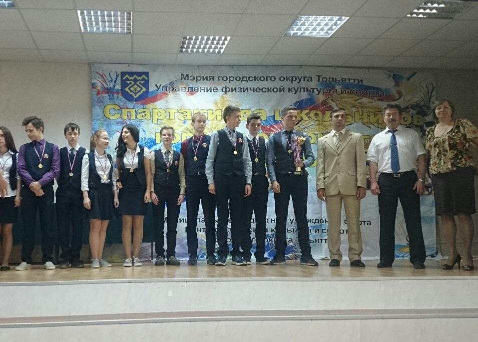 В Тольятти подвели итоги спартакиады школьников
