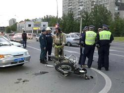 19 мая в Тольятти произошла авария с участием мотоциклиста