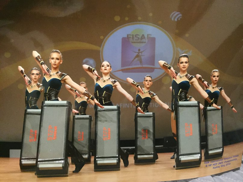 Тольяттинки стали победительницами Первенства Европы по степ-аэробике