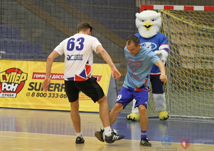 В Тольятти прошел благотворительный матч «Благородный футбол»