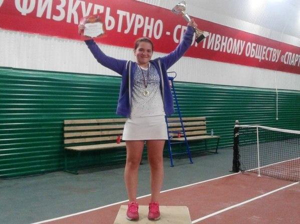 Тольяттинка Дарья Каличинина стала призером теннисного турнира в Беларуси