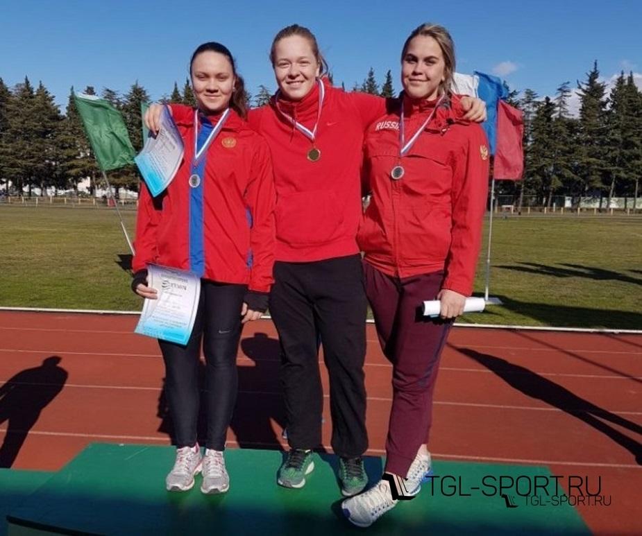 Тольяттинка Софья Палкина выиграла первенство России по длинным метаниям
