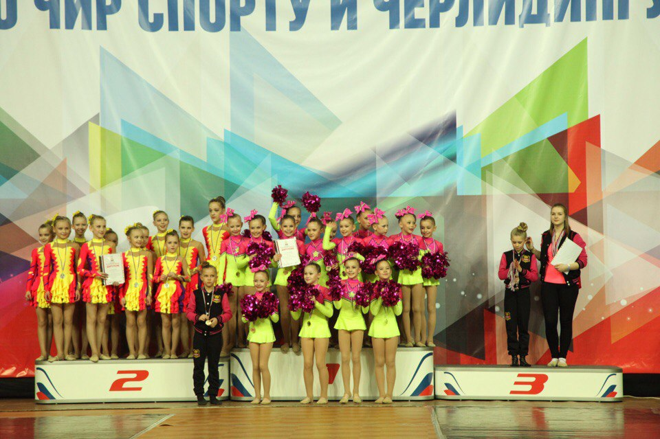 Тольяттинки вошли в ТОП-5 первенства России по чирлидингу