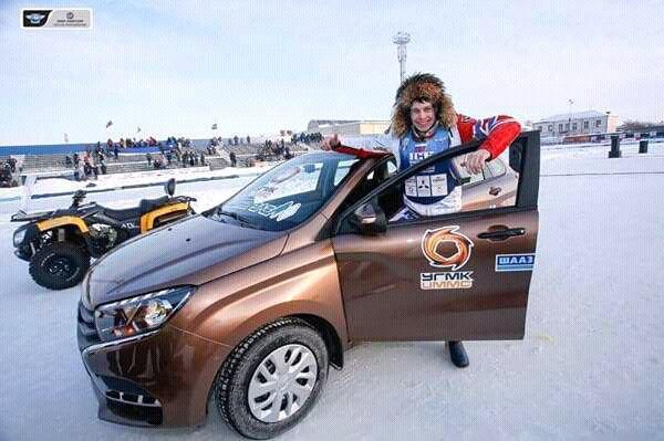 Тольяттинец Игорь Кононов сделал золотой дубль в Личном чемпионате мира по мотогонкам на льду
