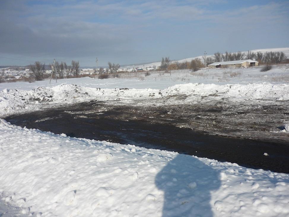 В Самарской области перевернулся КАМАЗ, перевозивший соляную кислоту