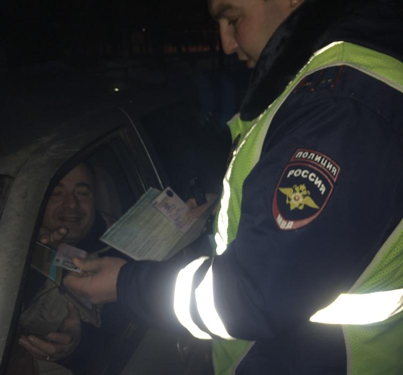 Под Тольятти проводится массовая проверка водителей