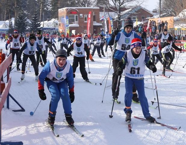 Участниками Общегородского дня лыжника стали более 6 тысяч тольяттинцев