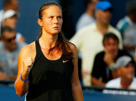 Дарья Касаткина обыграла Ангелик Кербер во втором раунде турнира в Дохе