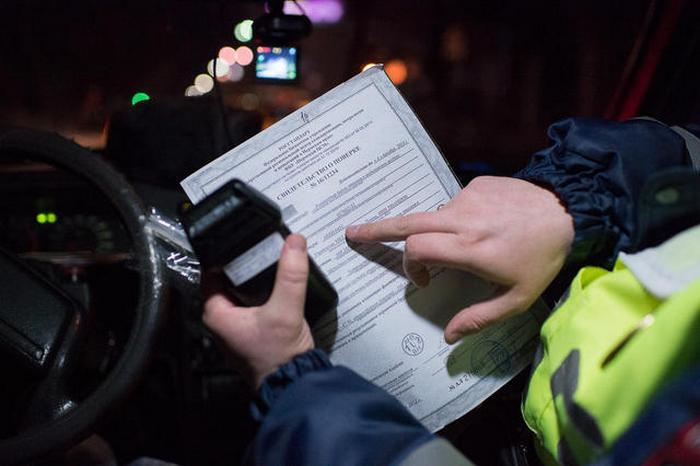 трезвый водитель лишение прав раздался