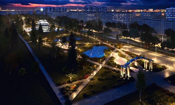Первый этап строительства сквера 50-летия АВТОВАЗа пройдет в этом году