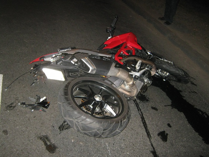 В ГИБДД сообщили подробности ДТП с погибшим мотоциклистом