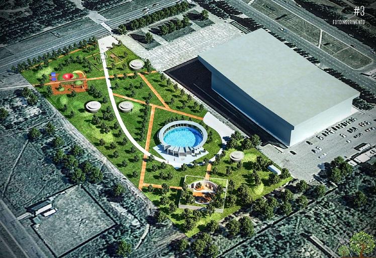 Представлен проект Итальянского парка у дворца спорта «Волгарь»