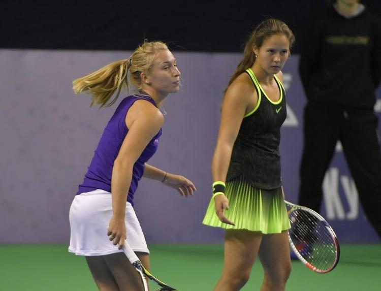 Дарья Касаткина вышла в полуфинал парного турнира в Токио