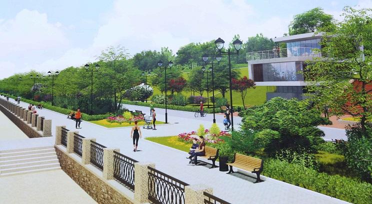 Набережная Автозаводского района станет одной из самых красивых в стране (фото)