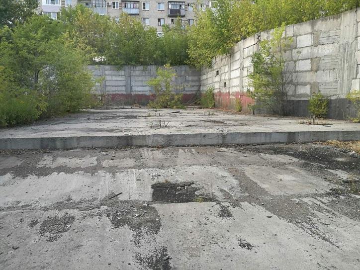 В сквере на месте бывшего «Маяка» планируется возвести фонтан, детскую площадку и зону отдыха