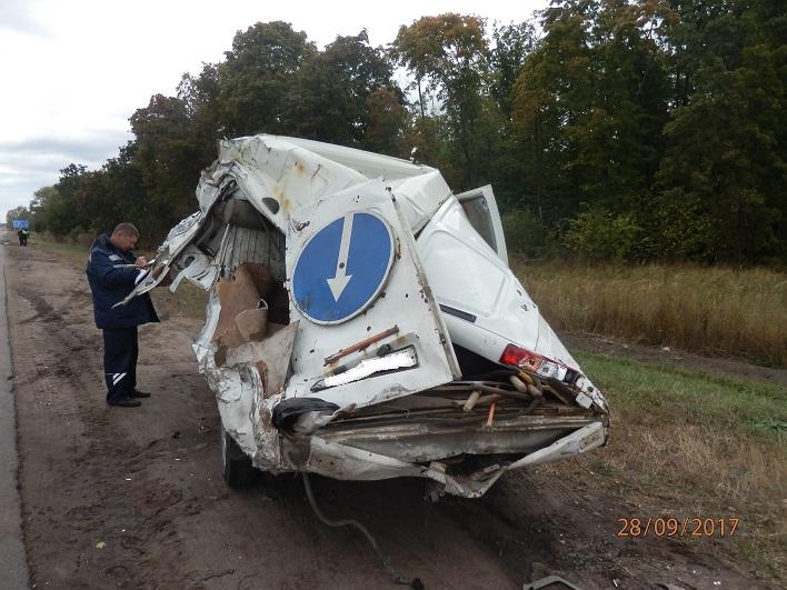 ГИБДД: Водитель фуры, покалечивший дорожного рабочего на трассе М-5, был лишен прав
