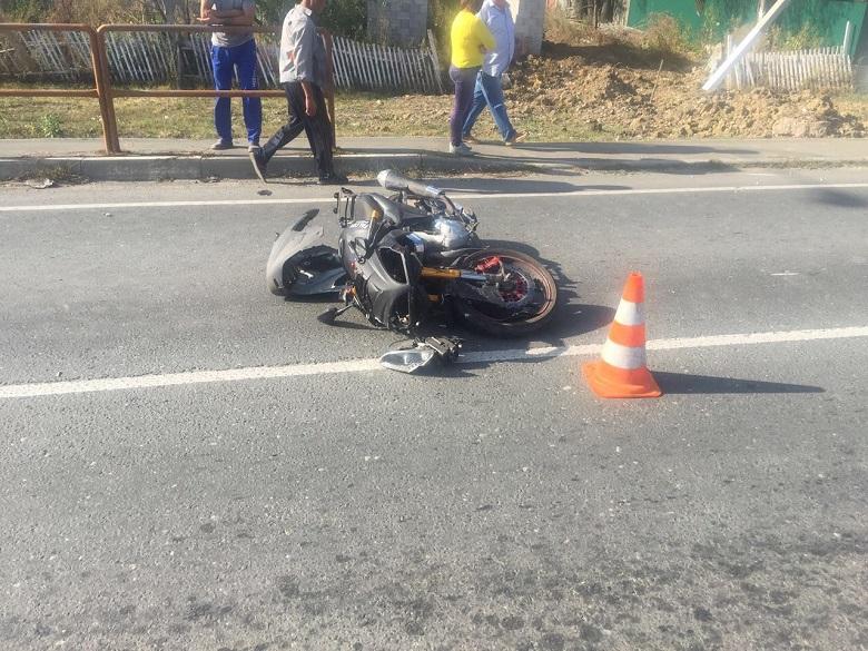 Под Тольятти мотоциклист без прав устроил ДТП, в котором пострадал ребенок