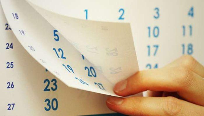 Согласован график выходных и праздников на 2018 год