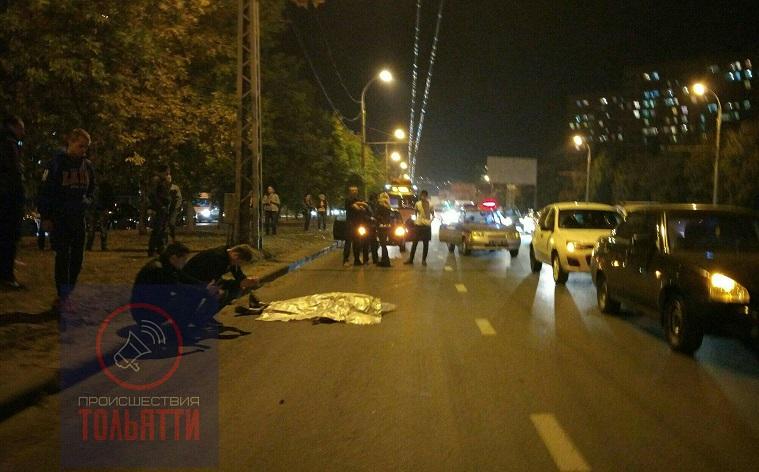 В Тольятти на улице 40 лет Победы разбился мотоциклист (фото)