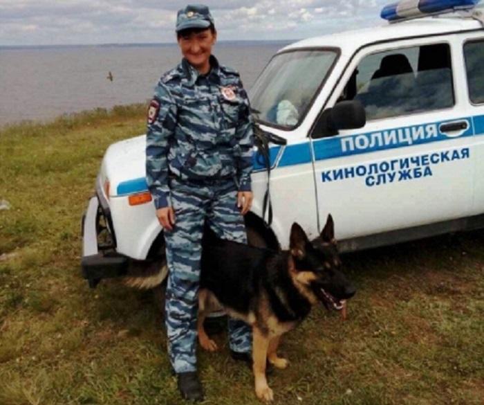 Под Тольятти служебный пес нашел преступника по запаху конфет