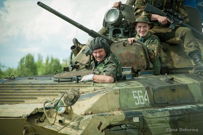 В Парковом комплексе отметят День танкиста