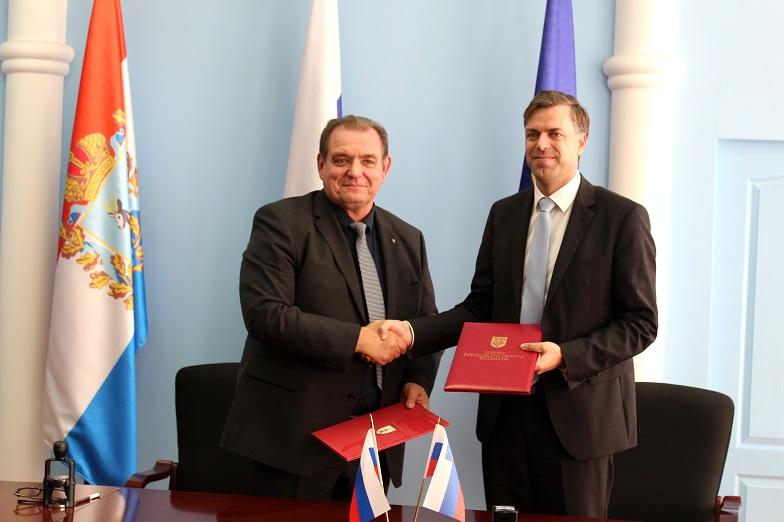 Подписано соглашение о дружбе и сотрудничестве между Тольятти и городом Ново-Место