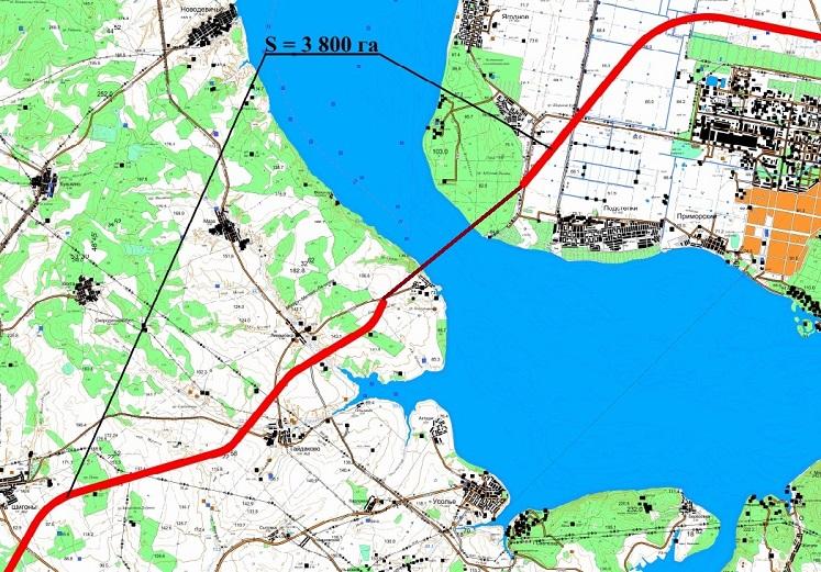 Появилась схема участка, где построят новый мост через Волгу в Самарской области