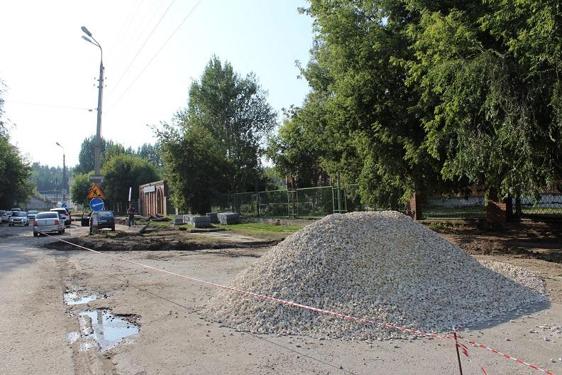 В Тольятти стартовал ремонт дороги у детской многопрофильной больницы