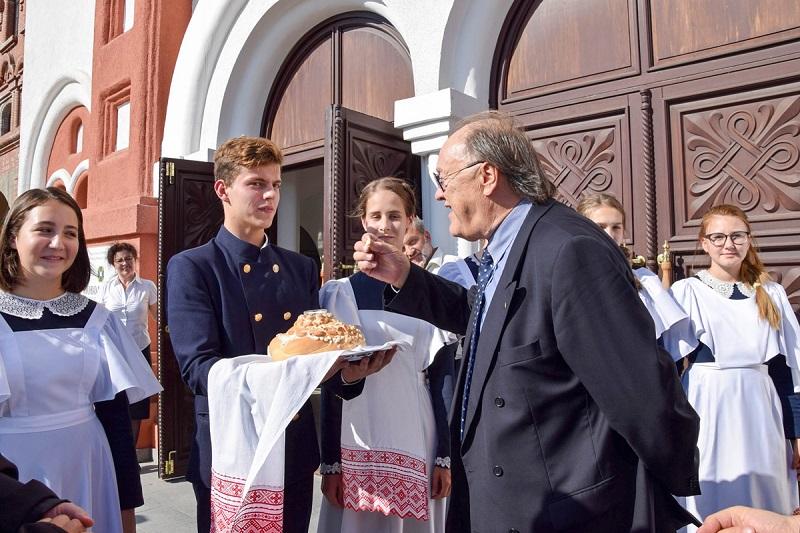 Посол Италии в Тольятти посетил Поволжский православный институт (фото)