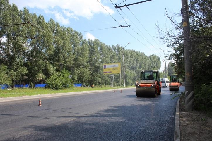 В горадминистрации рассказали о темпах ремонта дорог