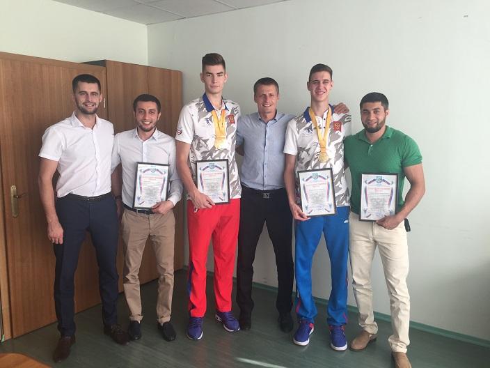 В Тольятти прошла встреча с победителями Универсиады-2017