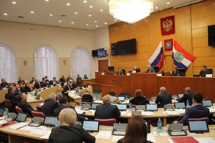 Депутаты губернской думы отчитались о доходах и имуществе