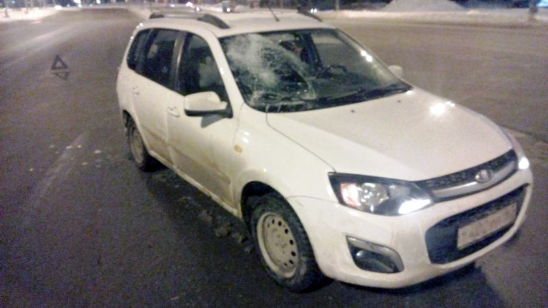 39-летняя тольяттинка попала под машину на улице Борковской (фото)