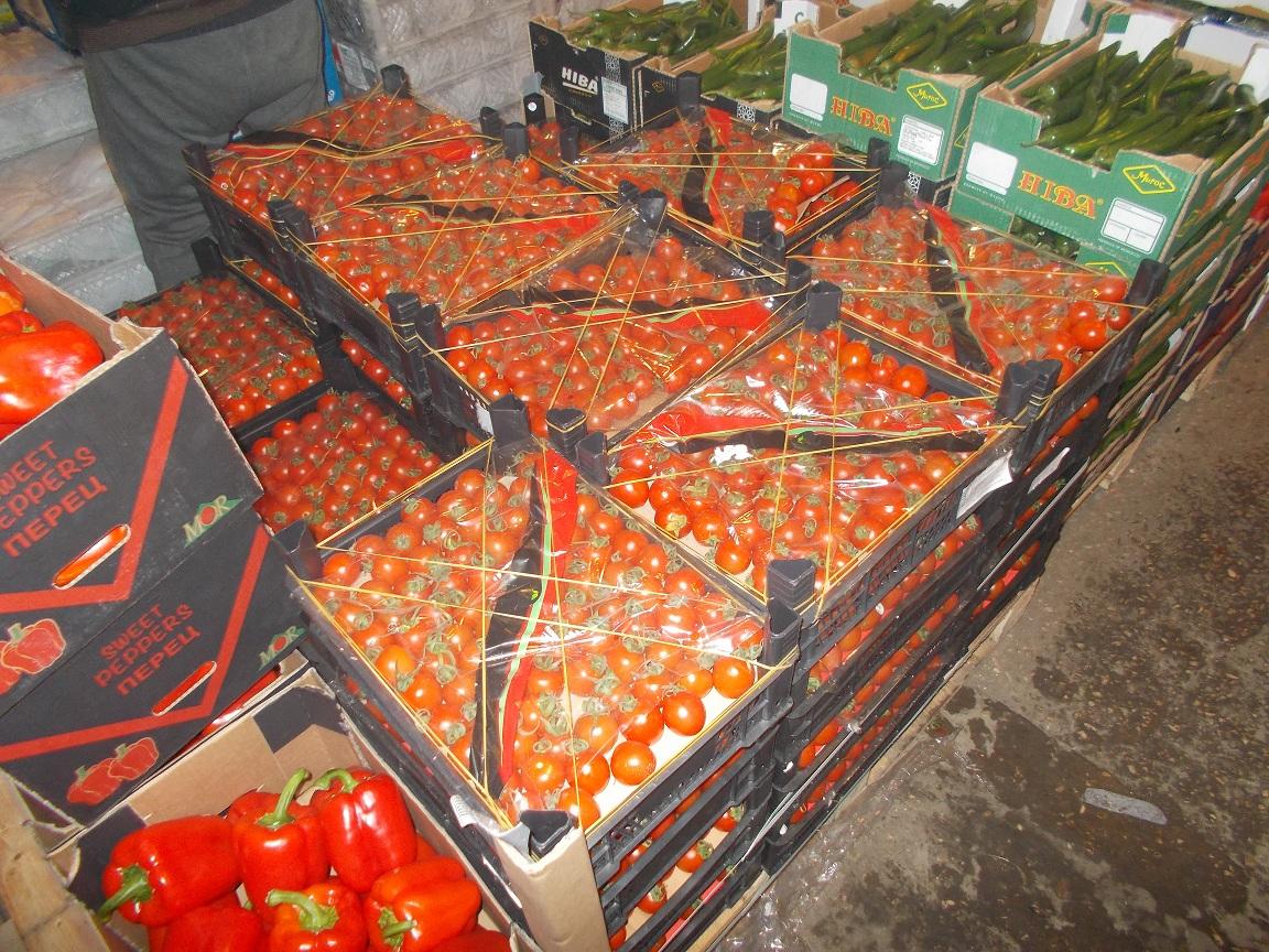 240кг томатов черри непопадут насамарские прилавки