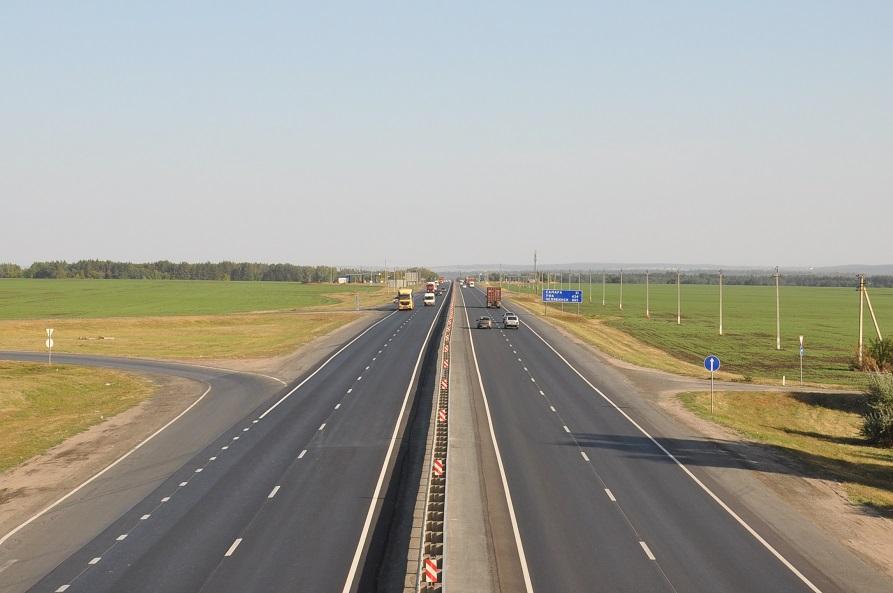 Под Тольятти на трассе М-5 временно ограничили движение