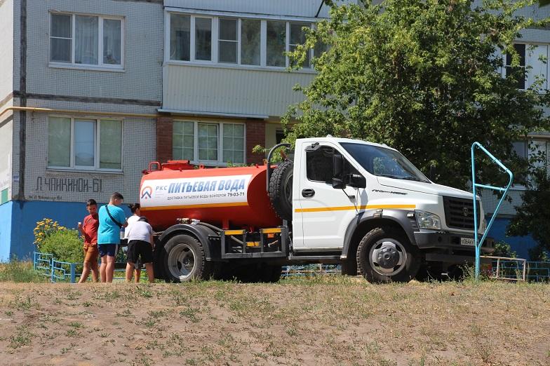 Для улучшения качества воды специалисты РКС-Тольятти проводят регулярную промывку труб
