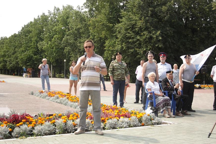 Тольятти со всей страной отметил День ВМФ