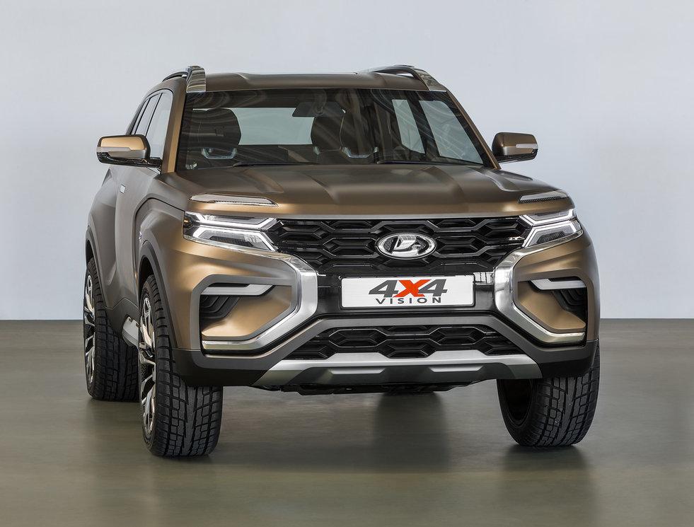 На АВТОВАЗе рассказали о ценах на новую Lada 4×4